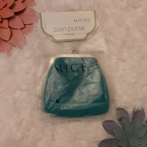 MICHE new Margo green coin purse